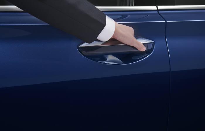 현대자동차 중국형 신형 싼타페 4세대 셩다 스마트 지문인증 출입·시동 시스템 (제공=현대자동차)