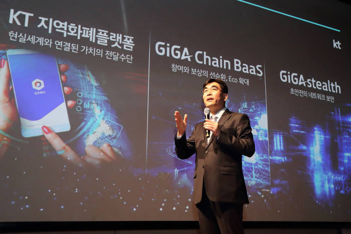 KT, 네트워크 블록체인으로 초안전 5G 시대 견인