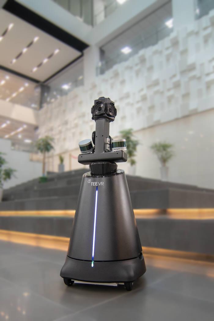 티랩스가 개발한 공간 스캐너 로봇 티스캐너. 사진출처=티랩스