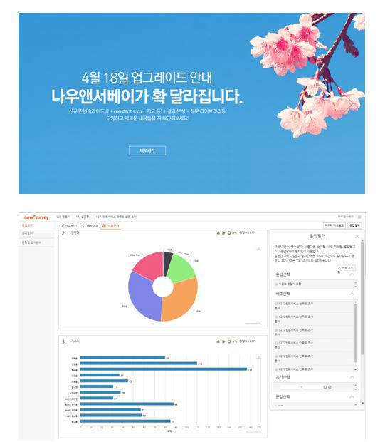 엘림넷, 온라인설문 플랫폼 `나우앤서베이' 기능 업그레이드