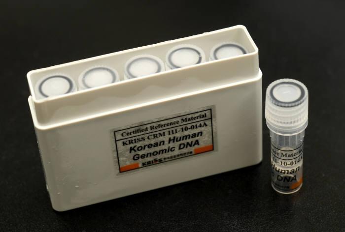 표준연과 서울대 연구팀이 아시아 최초로 개발한 한국인 유전체 표준물질