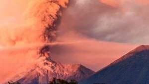 백두산 화산 분화