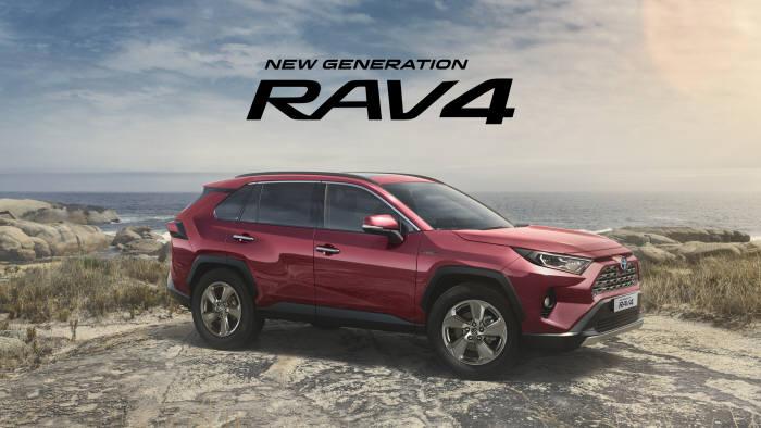 토요타코리아가 뉴 제너레이션 RAV4 사전계약을 실시한다.