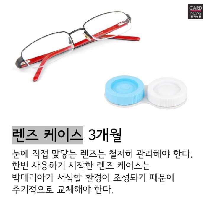 [카드뉴스]알고 쓰자, 생활용품 사용기한