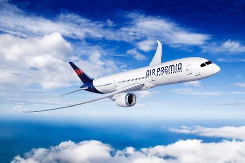 에어프레미아가 내년 도입하기로 계약한 B787-9 드림라이너 항공기 (제공=에어프레미아)