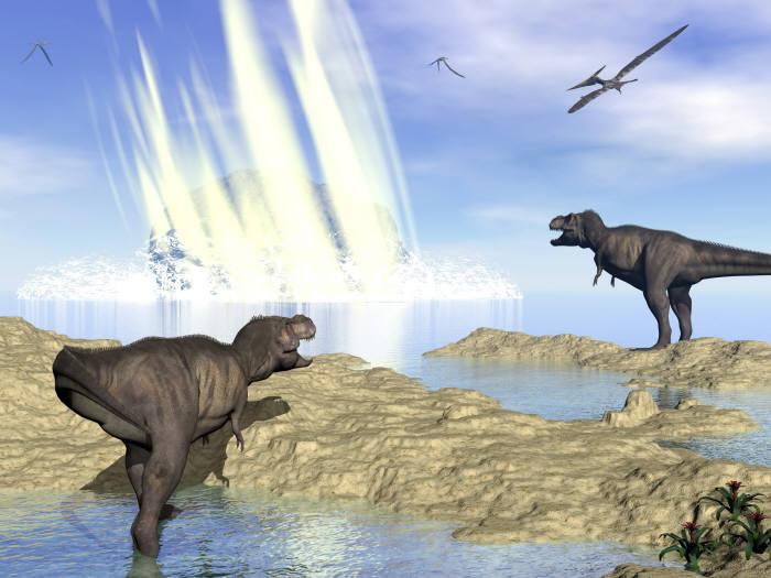 고생물학자들은 6600만 년 전의 소행성 충돌이 어떻게 대멸종을 일으켰는지 연구해 왔다. (출처: shutterstock)