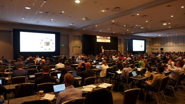 13일(현지시간) 미국 새너제이 맥에너리 컨벤션센터에서 SID(국제정보디스플레이학회) 디스플레이 위크 사전 행사로 비즈니스 컨퍼런스가 열렸다. (사진=전자신문DB)