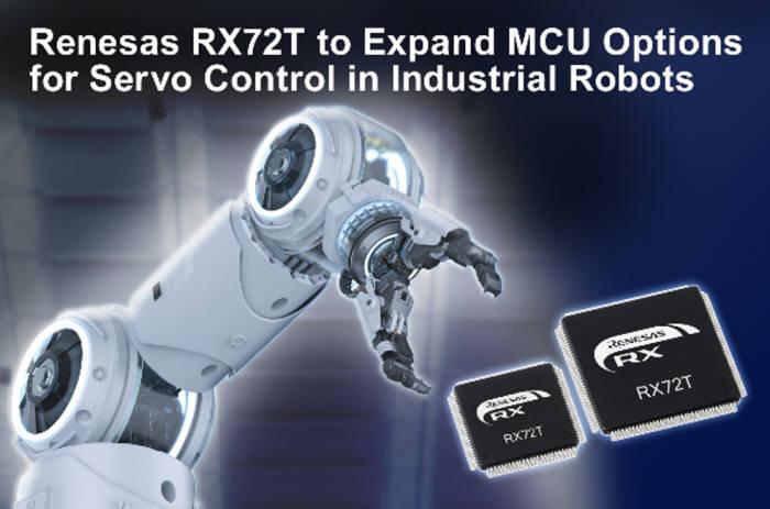 일 르네사스, 로봇 서보모터 제어용 MCU 개발