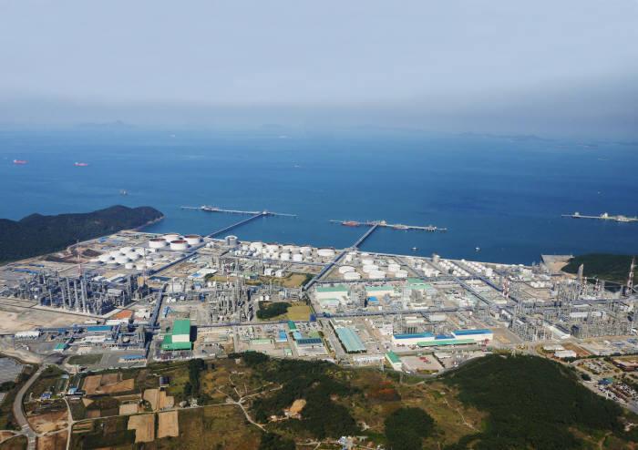 한화토탈 대산공장 전경. (사진=한화토탈)
