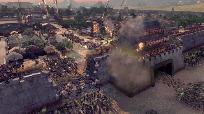 토탈워:삼국 인게임 스크린샷