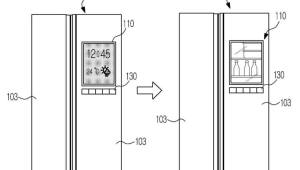 삼성 냉장고, 문 닫고도 안 보인다?...'투명' 디스플레이 기술 특허 출원
