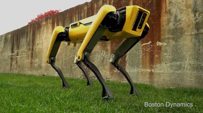 보스턴 다이내믹스 로봇개 스팟 미니. <사진=보스턴 다이내믹스 영상>