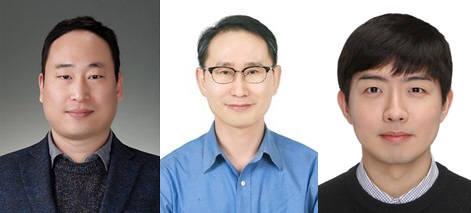 왼쪽부터 박영준 GIST 교수, 이재우 KAIST 교수, 안윤호 KAIST 박사.