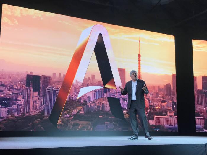미히르 슈클라 오토메이션 애니웨어 CEO가 RPA가 가져올 생산성을 설명했다.