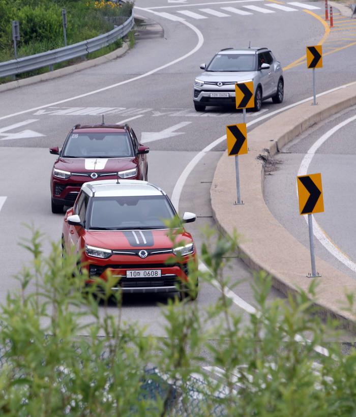 쌍용자동차 소형 SUV 베리 뉴 티볼리 (제공=쌍용자동차)