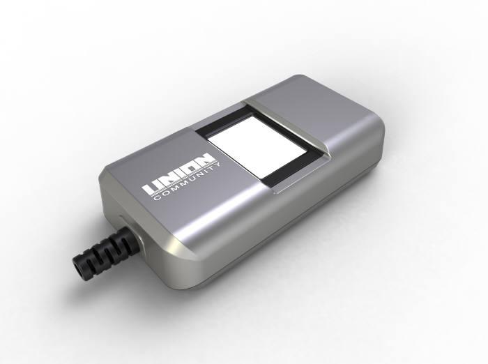 유니온커뮤니키가 보안칩을 내장해 새롭게 선보인 지문인증 스캐너 `NScan-FMSE