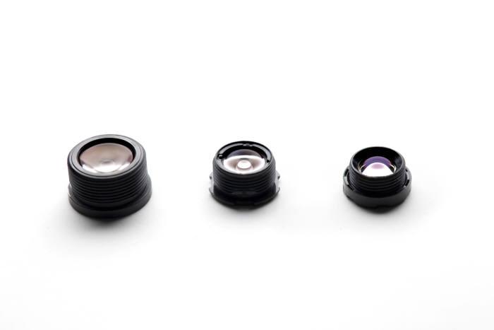 스마트폰 카메라용 렌즈들(제공: 코렌)