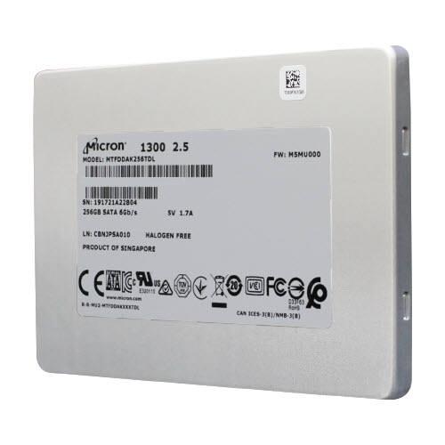 마이크론이 새롭게 출시한 `클라이언트 1300 SATA SSD.