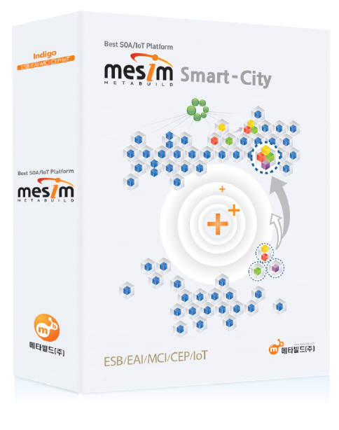 [AI·로봇 서밋 2019]메타빌드, 클라우드 기반 지능형 스마트시 플랫폼 `MESIM' 주목