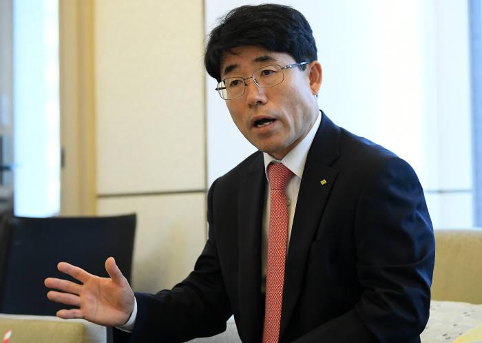 김영기 금융보안원장 이동근기자 foto@etnews.com