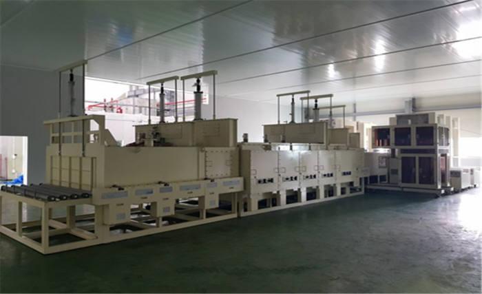 다인스가 개발한 이차전지용 실리콘계 음극활물질 제조장비. (사진=다인스)