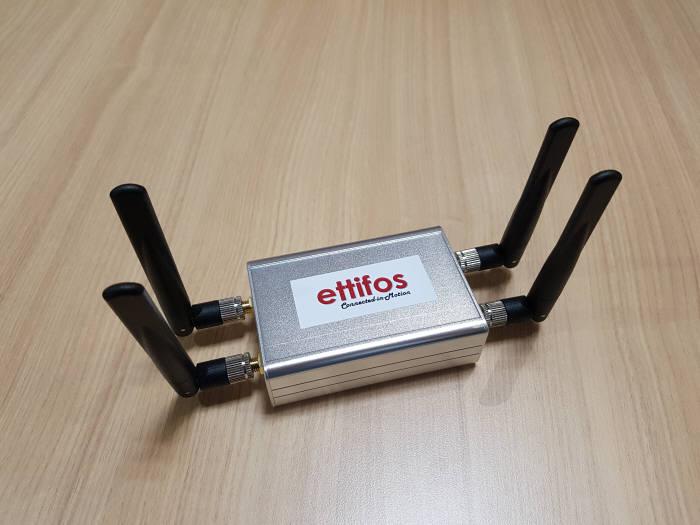 에티포스가 개발한 하이브리드형 V2X 솔루션 5G 글로벌 V2X 플랫폼 솔루션 (제공=에티포스코리아)