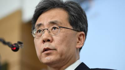"""김현종 """"한미일 고위급 협의에 韓美 적극적…일본은 아직 답 없어"""""""