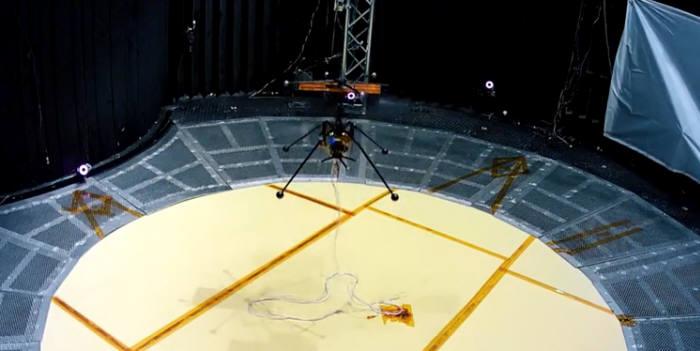 NASA의 우주 헬리콥터 실험. <사진: NASA 동영상 갈무리>