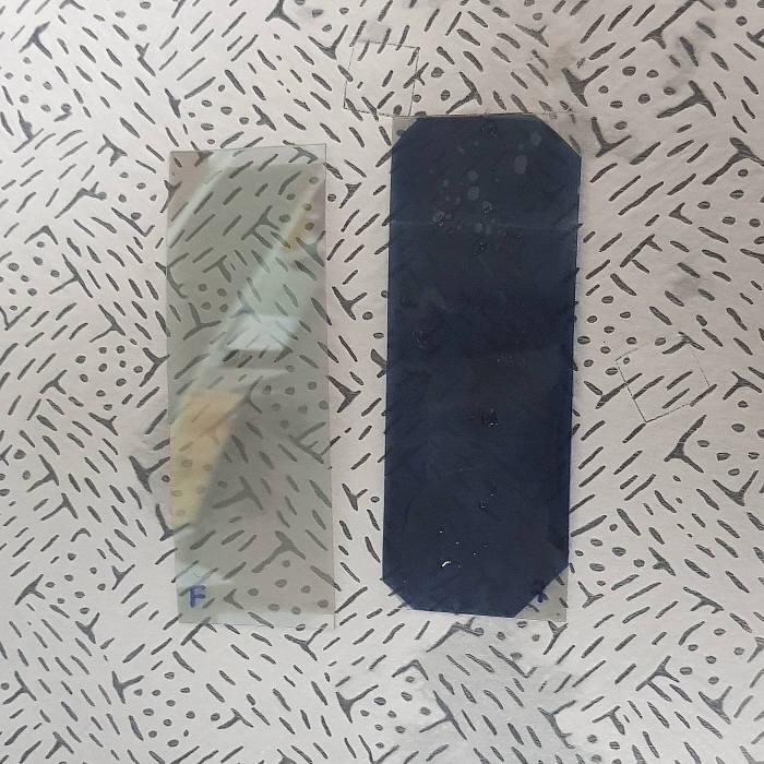 그래메디스가 개발한 액상 및 기상에서 육안으로 수소를 확인할 수 있는 다중모드 수소 센서.
