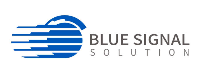 블루시그널 로고.