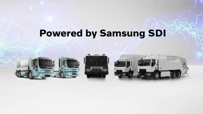삼성SDI, 볼보와 전기트럭용 배터리팩 공동 개발