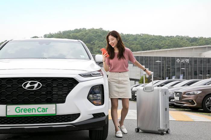 카셰어링 브랜드 그린카가 여름 휴가철을 앞두고 신차 1000대를 추가 투입한다.