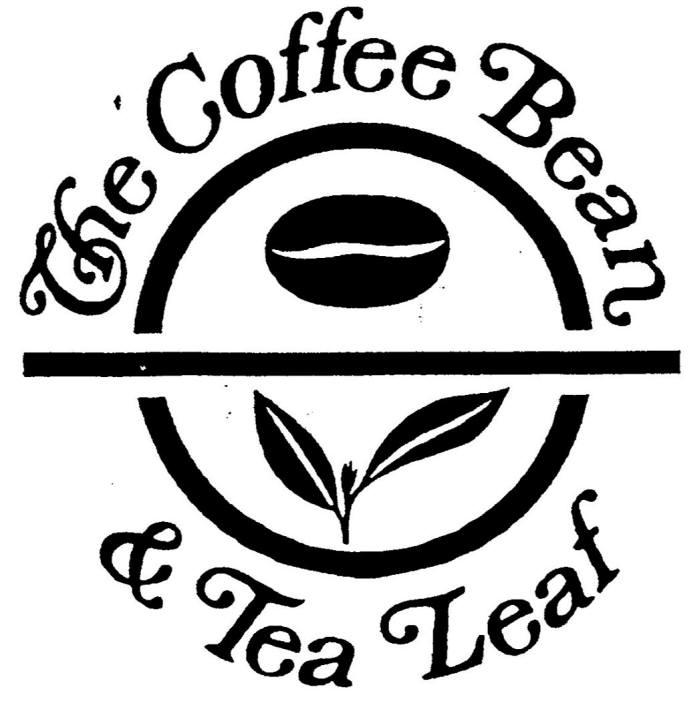 커피콩 사건의 원고인 인터내셔날 커피 앤드 티 인코포레이티드가 지난 1998년 등록한 상표(선사용상표1). 문자 부분인 더 커피 빈 앤드 티 리프(The Coffee Bean & Tea Leaf)가 커피콩 및 풀 등 도형과 함께 그려져 있다. / 자료: 키프리스