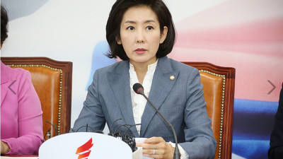 """나경원 """"일본 보복 결의안과 추경처리, 오늘 안에 협의해야"""""""