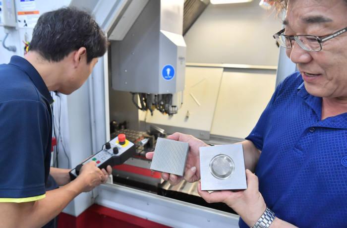 한국생산기술연구원 한국금형기술센터 국산 정밀금형 수준 높여라