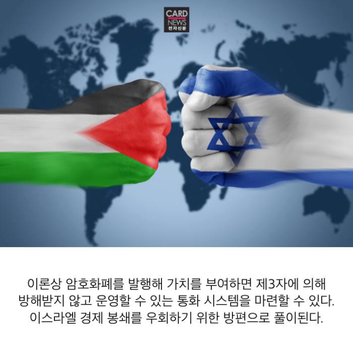 [카드뉴스]팔레스타인이 암호화폐 발행하려는 이유
