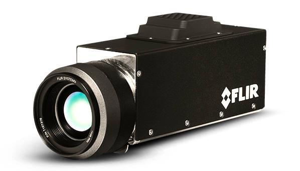 FLIR 광학가스 이미징(OGI) 카메라. 한컴MDS 제공