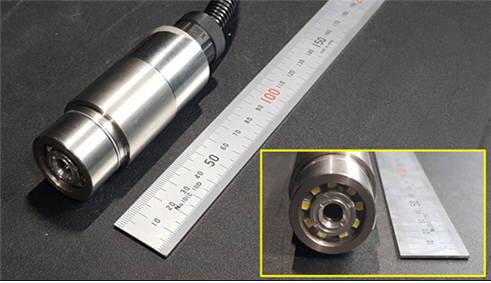 스마트 펌프에 내장한 수중카메라