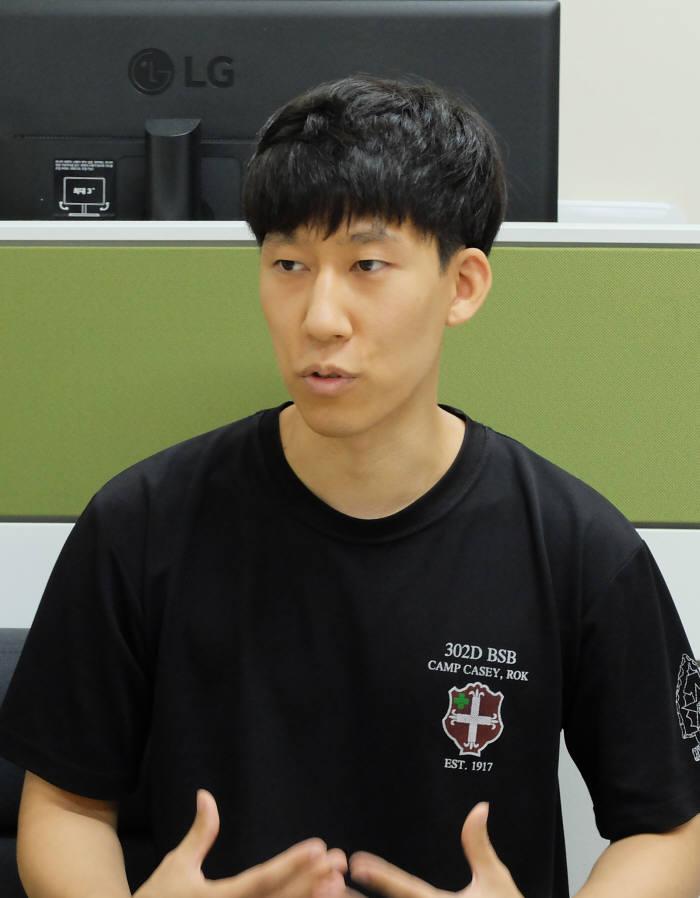 윤문용 한국폴리텍대학 화성캠퍼스 스마트자동차학과 교육생.