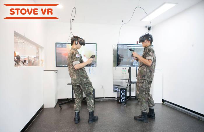 스마일게이트 스토브, 육군 부대 문화컴플렉스에 STOVE VR 플랫폼 공급