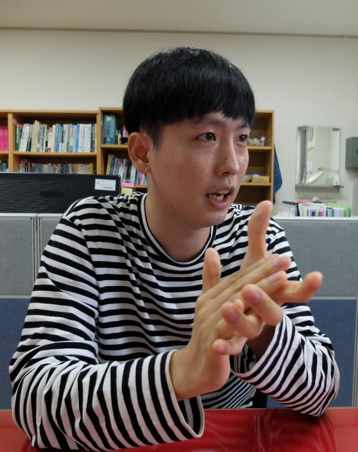 김성현 한국폴리텍대학 달성캠퍼스 스마트전자학과 교육생.