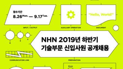NHN, 17일까지 기술부문 신입 공채 접수