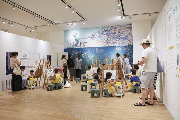 현대백화점 판교점 현대어린이책미술관