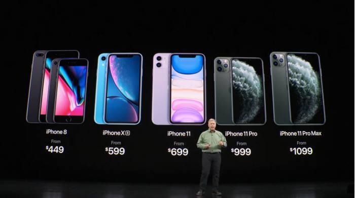 애플, 아이폰11 시리즈 발표... 초광각 트리플 카메라 탑재