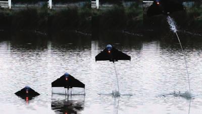 물에서 이륙하는 드론 개발됐다