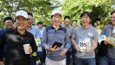 삼성디스플레이, 나누고 소통하는 '함께 걷는 길' 행사 개최