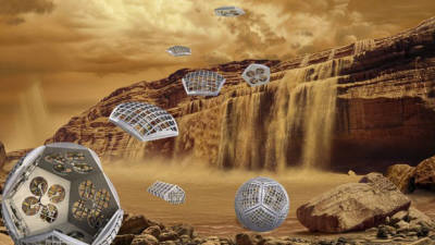 NASA, 토성의 달 타이탄 탐사용 '모형 변형' 로봇 개발