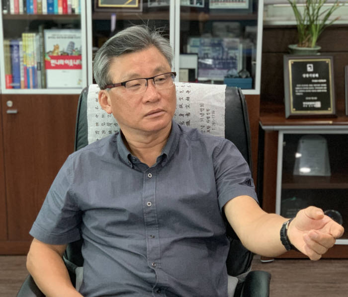 김창호 글로벌 로봇 클러스터(GRC) 회장(대경로봇기업진흥협회장)