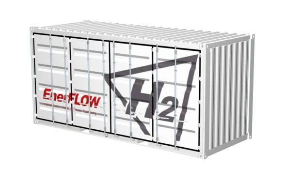 에이치투의 바나듐레독스플로배터리 제품 EnerFLOW 430. (사진=에이치투)