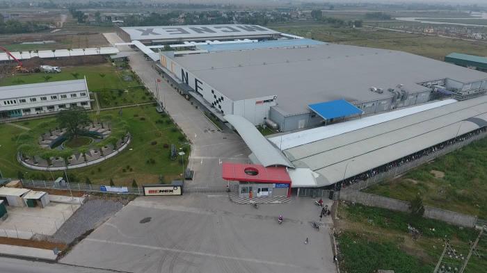 엠씨넥스 베트남 공장 전경